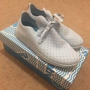 Light Blue Vegan Native Shoes Apollo Moc